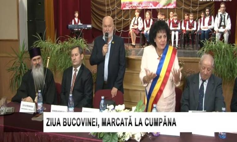 Ziua Bucovinei în comuna Cumpăna din județul Constanța, un model de onorare a momentelor importante din istoria noastră.