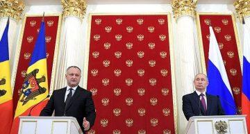 Alegerile din RM: Vladimir Putin i-a dat asigurări lui Igor Dodon…