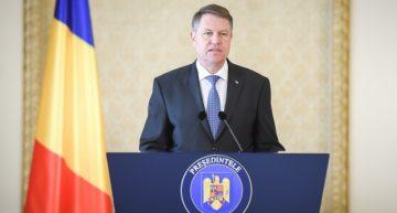 Președintele Klaus Iohannis, a semnat decretul privind prelungirea stării de urgență pe teritoriul României