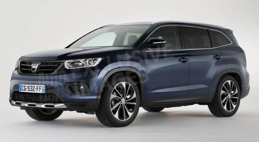 """Dacia lucrează asiduu la viitoarea generație a lui Duster – """"Grand Duster"""" cu șapte locuri! Atacă Seat Ateca sau Kia Sportage"""