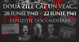 """Video / Conferință cu ocazia expoziției documentare de la Clubul Țăranului Român: """"DOUĂ ZILE CÂT UN VEAC… 28 IUNIE 1940 – 22 IUNIE 1941"""""""