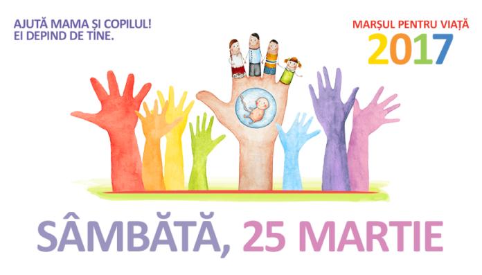Două state, aceleași valori, același popor! Marşul pentru Viaţă şi Familie  în peste 285 de localităţi din România şi Republica Moldova