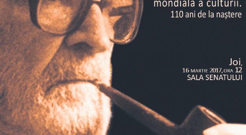 """""""Mircea Eliade, un român în elită mondială a culturii. 110 ani de la naştere"""" – Eveniment la Universitatea Alexandru Ioan Cuza din Iași"""