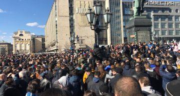 Protest masiv împotriva lui Vladimir Putin în Rusia. Zeci de mii de oameni au ieşit în stradă, au loc confruntări cu forțele de ordine