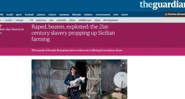 """The Observer: """"Sclavele"""" românce de la fermele din Sicilia: violate, bătute şi exploatate. Cum a reacționat clasa politică românească?"""