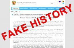 """Diplomație blamată! În spiritul """"Fake News"""", un """"Fake History – Fântâna Albă 1941"""" debitat de Ambasada Federației Ruse la București"""