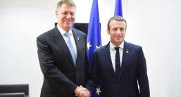 """EmmanuelMacron la București: """"Aveţi tot dreptul să cereţi aderarea la spaţiul Schengen"""""""