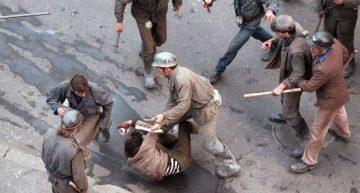 Mineriada `90:  Adrian Sârbu a plănuit aruncarea în aer a demonstranților cu 20 kg de trotil!!!