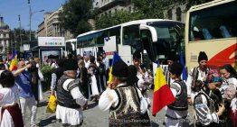 Pentru prima oară în istoria României! Românii din Covasna și Harghita au venit în București, pentru a transmite un puternic mesaj de unitate națională către întreaga Țară