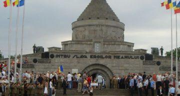 Să nu uităm! Un secol de la bătăliile de la Mărăști, Mărășești și Oituz. Video:Turul aerian al Mausoleului de la Mărăşeşti