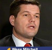 """Wess Mitchell candidat la postul de adjunct al secretarului de Stat al SUA: """"Aveţi nevoie ca atât cât se poate influenţa rusă să nu treacă la vest de Nistru"""""""