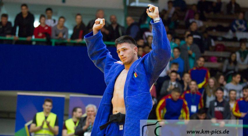 Eduard Şerban a cucerit medalia de aur la Campionatele Mondiale de judo pentru cadeţi de la Santiago de Chile