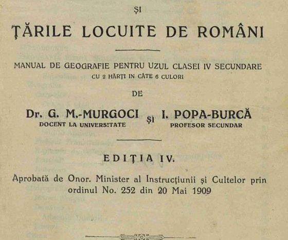 ROMÂNII DE PRETUTINDENI ÎN PROGRAMA ȘCOLARĂ