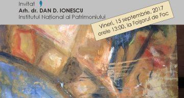 Conferință dedicată celor 125 de ani de existență a Foișorului de Foc la București