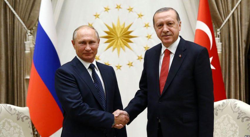 La Ankara, Putin și Erdogan au consolidat cooperarea în problema siriană. Relațiile ruso-turce mai întărite și mai apropiate