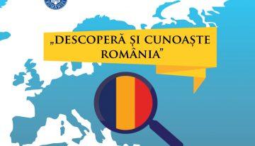 """""""Descoperă și Cunoaște România"""" proiect pilot pentru tinerii etnici români din Republica Moldova și din celelate comunități românești"""