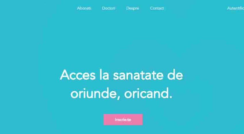 Se deschide prima platformă românească de internet care pune pacientul în legătură cu medici specialişti direct de la calculator sau telefonul mobill