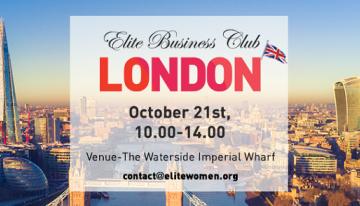 Londra promovează, din nou, antreprenoriatul feminin românesc