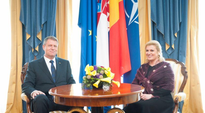 București. Președintele croat susține activarea regimului Schengen și eliminarea MCV pentru România