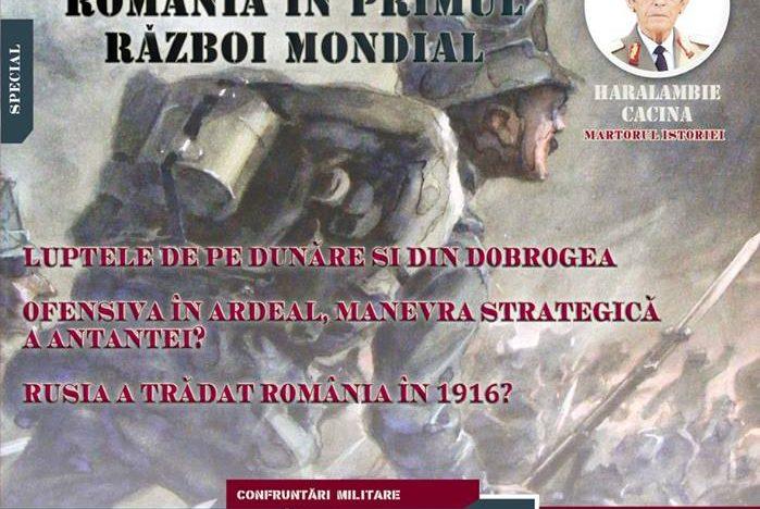 A apărut numărul 4 al prestigioasei reviste de istorie militară romaneasca și universală, TACTICA și STRATEGIA