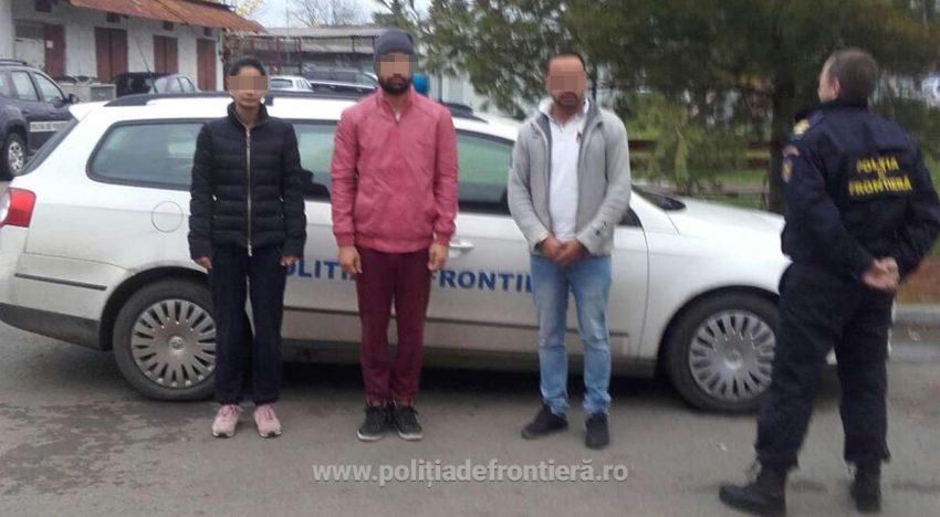 Cetățean german reținut pentru trafic de imigranți prin România