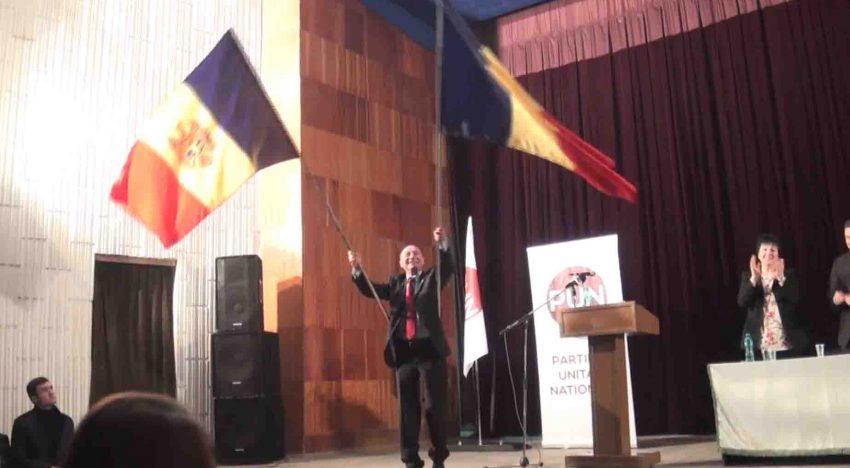 """Video: Șah la Dodon! Traian Băsescu, la Cahul în Republica Moldova: """"unirea dintre cele două țări se va produce oricum, cu sau fără noi"""""""