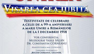 Video: Unirea, visarea cea iubită – conferință dedicată celei de-a 99-a aniversări a Marii Uniri din 1 Decembrie 1918 la București