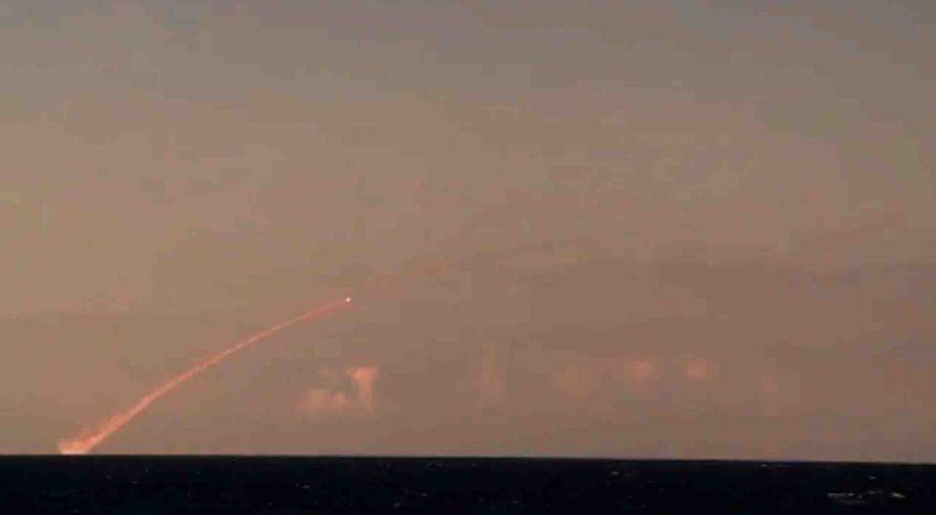 BREAKING NEWS: Atac masiv al Rusiei cu rachete de croazieră din Marea Mediterană asupra țintelor ISIL din Siria