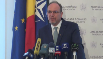 """Lăsați istoria să fie scrisă de istorici. Moldova este parte integrantă a României"" – Daniel Ioniță, ambasadorul României la Chișinău, mesaj către politicienii din RM"