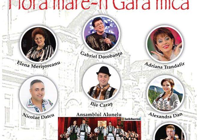 """Centenar Marea Unire 1918 – 2018 """"Hora mare-n gara mică""""- spectacol de muzică românească pentru românii din Cernăuți"""