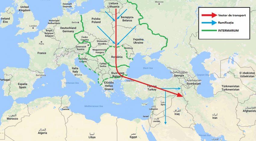 Valențele strategice ale rețelei de transport feroviar – Intermarium