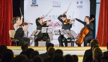 La Muzeul Național al Hărților și Cărții Vechi, muzica boemă a unei povești istorice cu Solartis Quartet