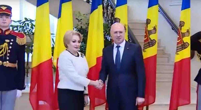 Video: Prim-ministrul României, Viorica Dăncilă se află în vizită de lucru în Republica Moldova