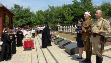 Pelerinaj la Cimitirul Eroilor Români de la Țiganca – Pildă de Onoare și Recunoștință față de jertfa Armatei Române pentru desrobirea Basarabiei și Nordului Bucovinei