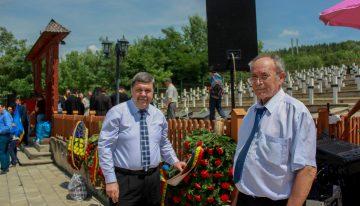 Dr. Constantin CORNEANU președinte AESGS și Marian CLENCIU președinte ACPBB