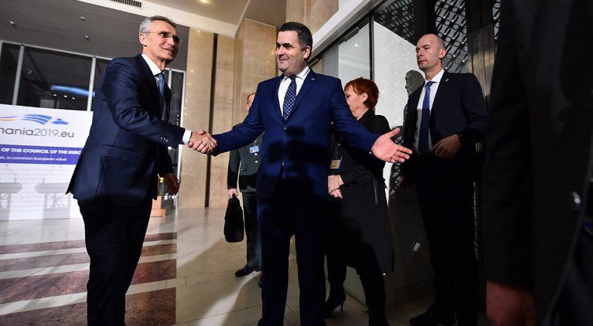 Video: Reuniunea informală a miniştrilor apărării din UE la București
