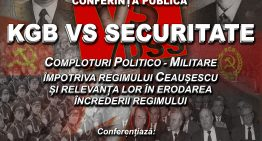 KGB versus Securitate și comploturile politico-militare împotriva regimului Ceaușescu, tema conferinței publice din februarie la IRRD`89