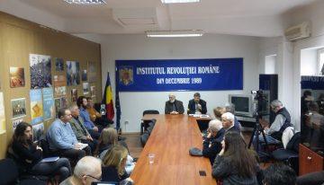 Foto-Video / Acțiunile de opoziție și disidență față de regimul Ceaușescu la începutul Anului 1989, temă de dezbatere la Institutul Revoluției Române din Decembrie 1989