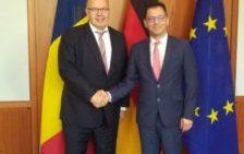 Întâlnirea dintre Ștefan-Radu Oprea și Peter Altmaier, Ministrul Federal pentru Afaceri Economice și Energie al Germaniei