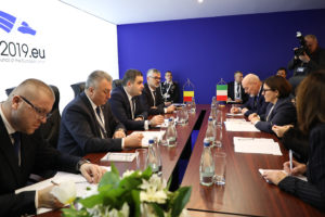 Întâlniri bilaterale ale ministrului apărării naționale, în a doua zi a reuniunii informale a miniștrilor apărării din statele membre ale UE