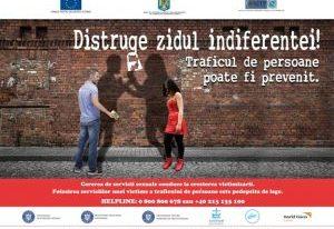 """Participarea subsecretarului de stat Victor Ionescu la lansarea campaniei de prevenire a exploatării sexuale """"Distruge Zidul Indiferenței!"""""""