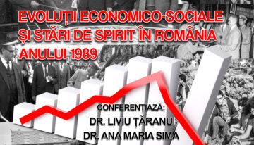 Evoluții economico-sociale și stări de spirit în România Anului 1989, o nouă conferință publică la IRRD`89
