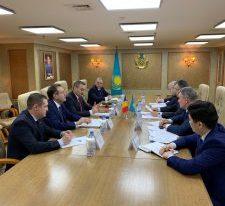 MRP în dialog cu oficialii și comunitatea românească din Republica Kazahstan