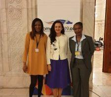 Participarea ministrului Natalia Elena Intotero la conferința Women's Forum