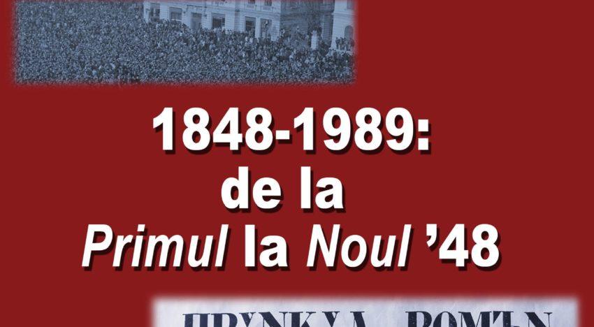 """Lansare de carte: """"1848-1989: de la Primul la Noul '48"""" – autor Adrian Niculescu"""
