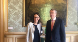 Ministrul Afacerilor Europene, George Ciamba, cu omologul francez și consilierul Macron – orientări și viziuni comune, România – Franța, pentru o Uniunie mai puternică, mai eficientă și democratică