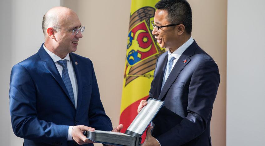 Pavel Filip, către oamenii de afaceri chinezi: Odată cu semnarea Acordului de liber schimb cu China turațiile legăturilor economice vor spori