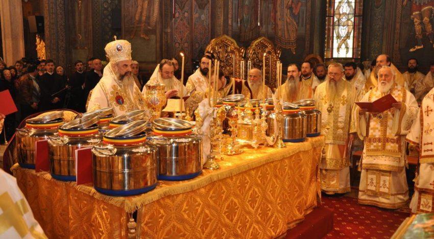 Biserica Ortodoxa Română a început pregătirea Marelui Mir, în primele zile din Săptămâna Patimilor