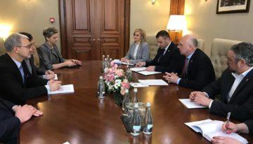 Prioritățile cooperării moldo-poloneze, discutate de Pavel Filip și ministrul Investițiilor și Dezvoltării Economice a Republicii Polonia, Jerzy Kwiecinski