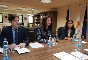 Întâlnirea ministrului Natalia-Elena Intotero cu comisarul prezidențial cipriot pentru Diaspora și Afaceri Umanitare
